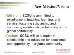new mission vision