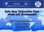data buoy cooperation panel status and developments