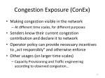congestion exposure conex