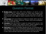 question format