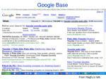 google base