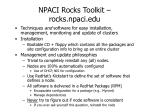 npaci rocks toolkit rocks npaci edu