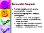 schoolwide programs