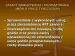 zasady nawi zywania i rozwi zywania um w o prac tymczasow23