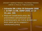 zasady nawi zywania i rozwi zywania um w o prac tymczasow36