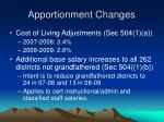 apportionment changes1