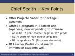 chief sealth key points