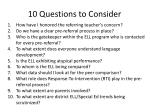 10 questions to consider