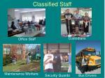 classified staff