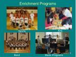 enrichment programs