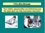 your child s opportunities are limited because the state does not fully fund basic education