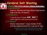 cerebral salt wasting