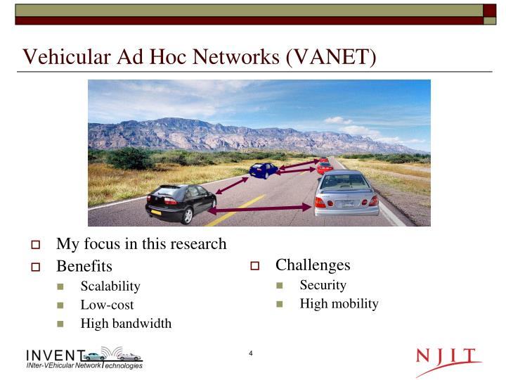 vehicular ad hoc networks essay Abstract: vehicular networks are very likely to be deployed in the coming years and thus become the most relevant form of mobile ad hoc networks in this paper, we address the security of these networks we provide a detailed threat analysis and devise an appropriate security architecture.