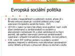 evropsk soci ln politika2