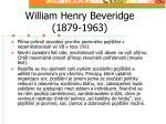 william henry beveridge 1879 1963