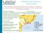 amplificador raman rede giga