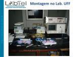 montagem no lab uff