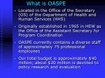 what is oaspe