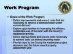work program2