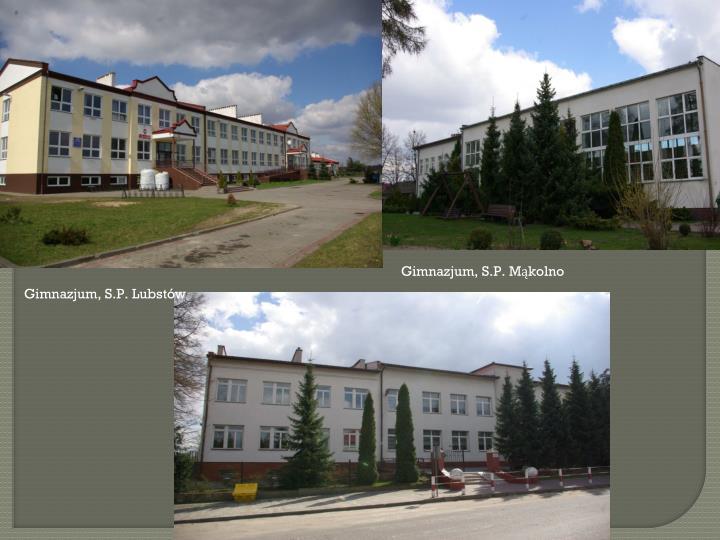 Gimnazjum, S.P. Mąkolno
