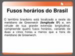 fusos hor rios do brasil