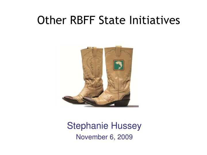 other rbff state initiatives n.
