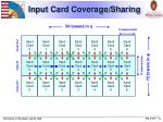 input card coverage sharing