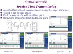optical networks precise time transmission1