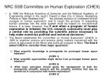 nrc ssb committee on human exploration chex