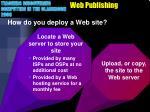 web publishing1