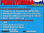 pennsylvania gis contact frank desendi desendi@dot state pa us
