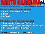 south carolina gis contact donald mcelveen mcelveende@dot state sc us