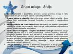 grupe usluga srbija