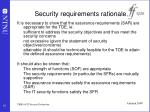 security requirements rationale1