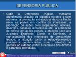 defensoria p blica