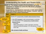 understanding the health and fitness gles