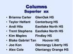 columns superior xx1