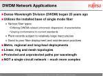 dwdm network applications