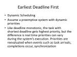 earliest deadline first