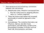 olfaction memory and emotion1