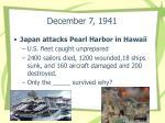 december 7 1941