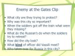 enemy at the gates clip