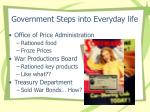 government steps into everyday life