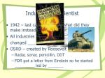industry and scientist