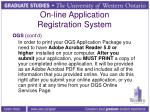 on line application registration system1