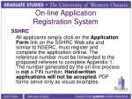 on line application registration system4