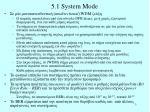 5 1 system mode