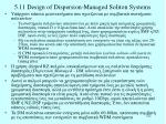 5 11 design of dispersion managed soliton systems