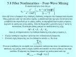 5 8 fiber nonlinearities four wave mixing3
