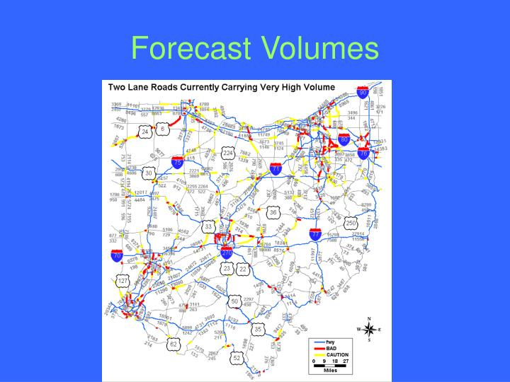 Forecast Volumes